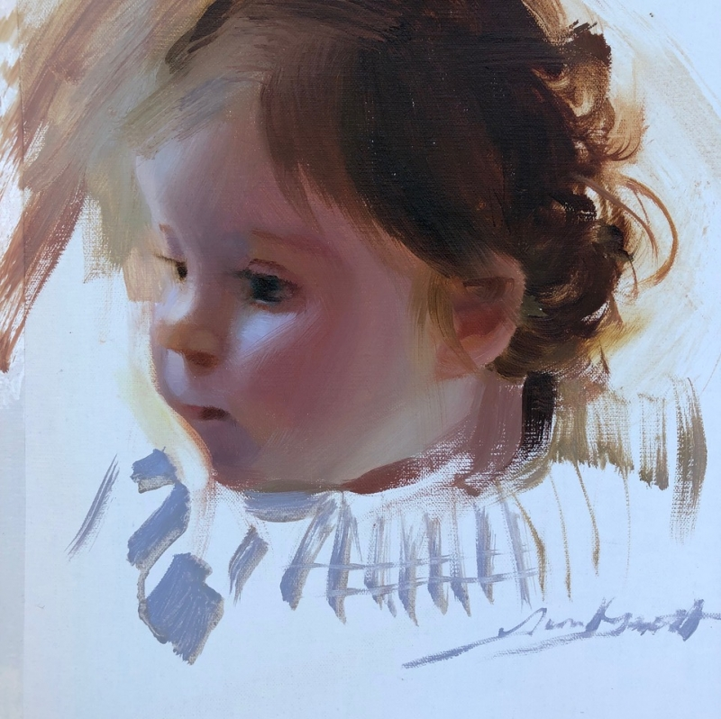 Young Child by Tina Garrett
