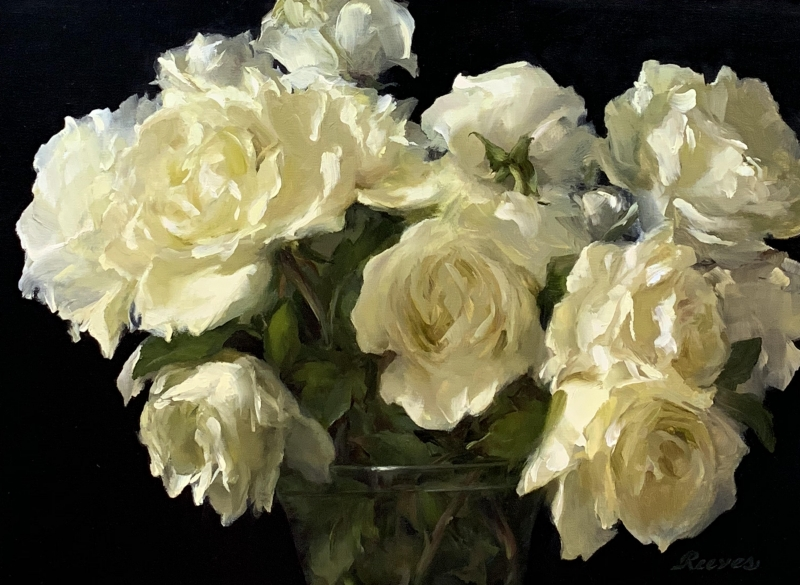 White Roses by Diane Reeves