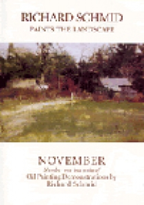 Richard Schmid Paints the Landscape: November DVD