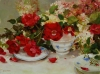 Red Roses and Wedgewood